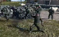 Dancing Recon Marine, ArmA II Style