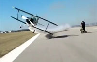 Near Death Flyby on the Tarmac