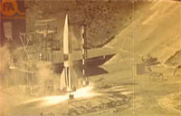 WWII German V2 Rocket Tests