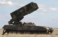 Explosive TOS-1 Pinocchio Live Fire