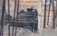 SAA Tank Engaged at Daraa Checkpoint