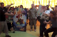 Army Capt. Flash Mob Family Surprise!
