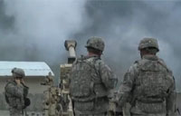 Troops Hit Taliban Position with M777