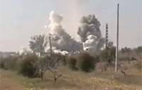 Series of Rocket Attacks Across Syria
