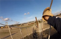 Helmet Cam of Bayonet Assault Course