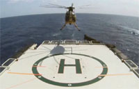 Boeing Unmanned Helo Sea Landing