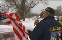 Man Plants 2,000 Flags Honoring Fallen
