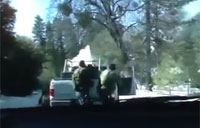 Chris Dorner Shootout with LAPD