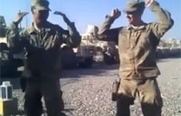 US Soldiers Bust the Azonto Dance