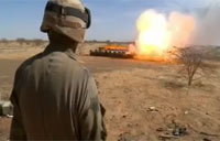 French Destroy Mali Rebel Ammo