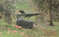 FSA Guided Missile Hits SAA Truck