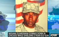Guardsman Killed While Shielding Son