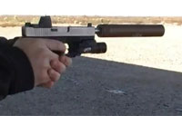 Shooting a Suppressed Glock