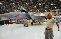 Harlem Shake in F-15 Hangar!