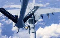 FA-18E Super Hornet Refueling