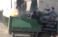 FSA Gunners Get Hit with Return Fire