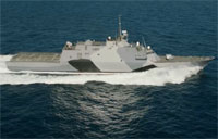 USS Freedom Sports New Camo Paint