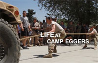 Life at Camp Eggers in 2012