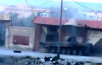 Insane Attack on SAA Tank Convoy