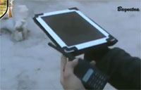 FSA Targets Assad Forces with iPad