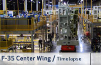 F-35 Center Wing Assembly