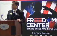 Freedom Center Military Lounge at DTW