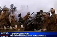 Howitzer Training Just 40 Miles from DC
