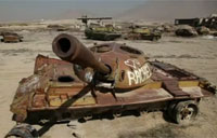 Afghanistan's Tank Graveyards