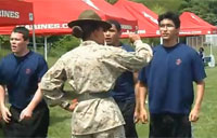 Female Marine DI vs. Poolees