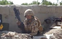 Gurkhas in Firefight with Taliban