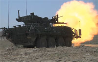Army's M1128 Mobile Gun System