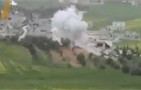 Syrian Rebels Pound SAA Outpost