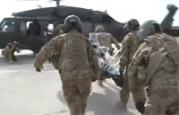 US Medical Role 2E in Afghanistan