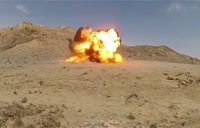 Afghan Soldiers Detonate C-4