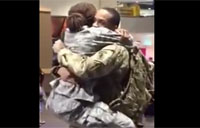 Military Couple Finally Reunited!