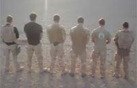 Royal Marines as Backstreet Boys
