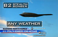 US Stealth Bombers in South Korea