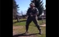 Rambo Soldier Busted on M60