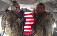 Re-enlistment Over Afghanistan