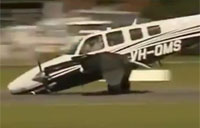 Nose Gear Failure on Landing