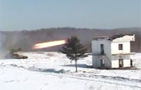 Russian Rocket Launcher Action