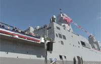 Navy Commissions USS Arlington