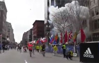 Boston Marathon 2013 Explosion