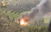 SAA Tank Can't Outrun FSA Rocket