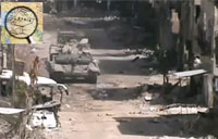 SAA T-72 Sends Greeting Card