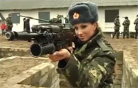 Female Forces of Russian Army