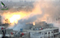 Rebels Attack Regime in Damascus