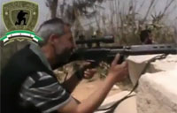 FSA Attacks Passing Shabiha Buses