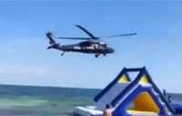 Helicopter Pilot Goes a Bit Too Low