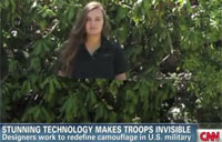 Technology Makes Troops Invisible